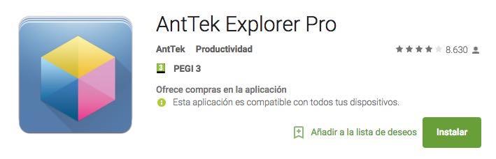 Exploradores Archivos Android