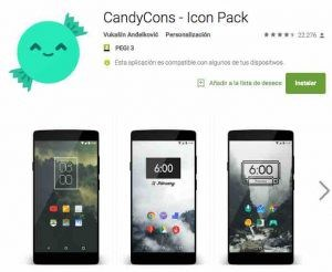 cambiar iconos Android