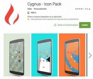 Personalizar iconos Android