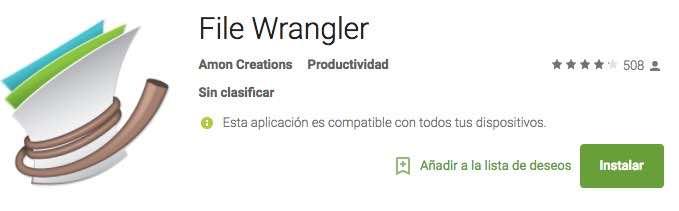 mejor Explorador Archivos Android