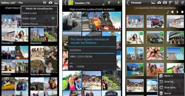 aplicación ocultar fotos
