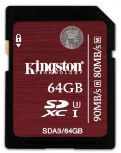 tarjeta SD 4k
