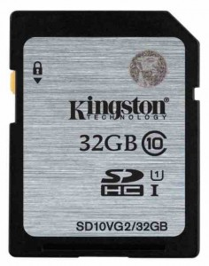 tarjeta memoria cámara fotos