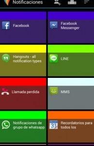 ordenar aplicaciones Android