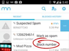 app bloquear llamadas