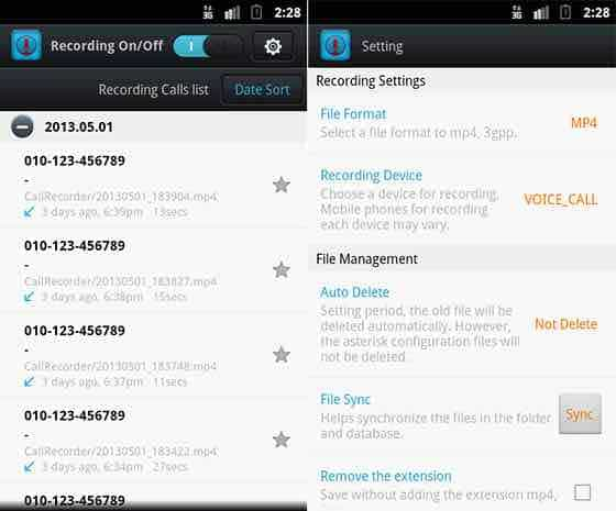 grabar llamadas android