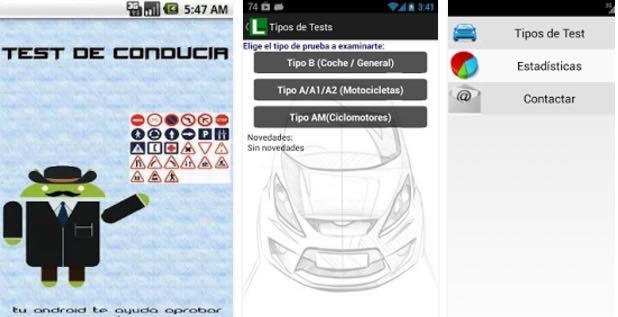mejor app test DGT
