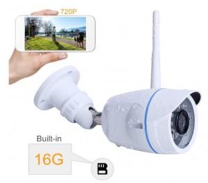 cámara IP Exterior barata