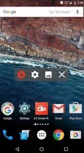 como grabar pantalla Android
