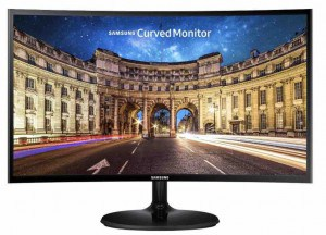 monitor PC curvo barato