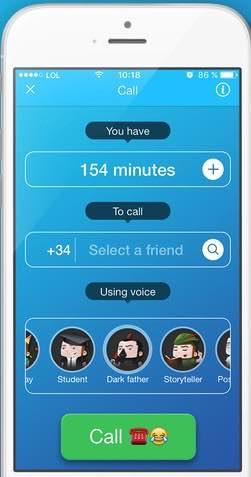 gastar bromas telefónicas cambiando la voz