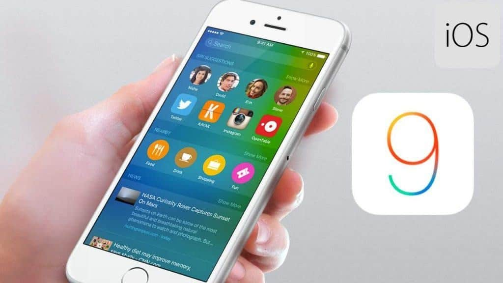 compartir internet con ios 9