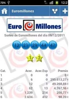 app comprobar lotería