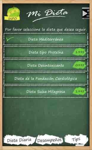 app aplicación para hacer dieta 2017