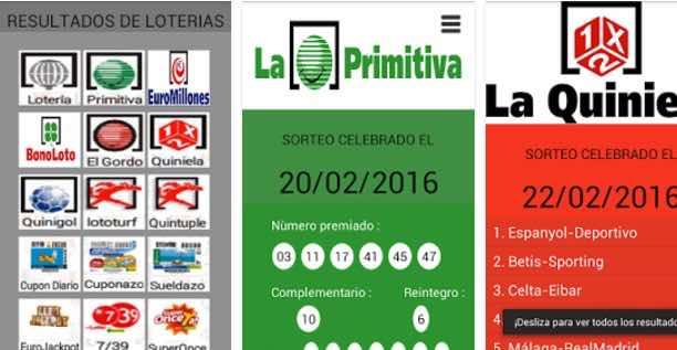 app comprobar lotería España