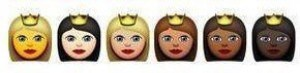 emoticones de princesa