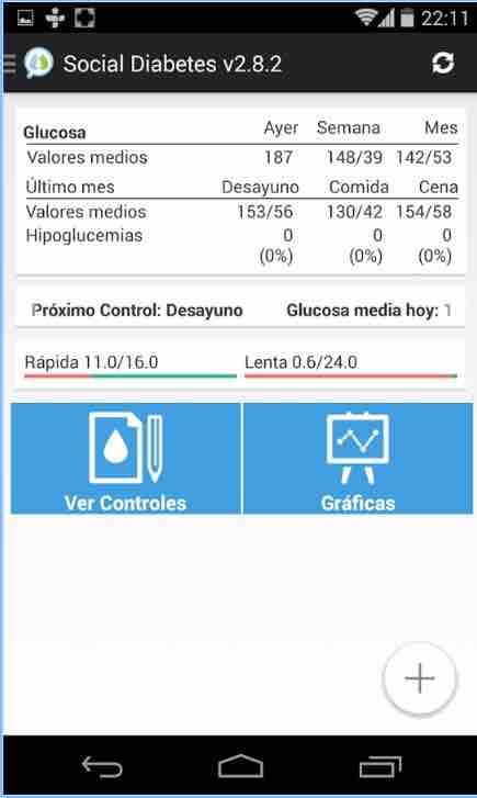 app para diabéticos