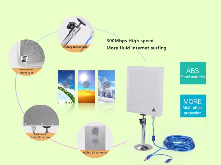 antena wifi exterior