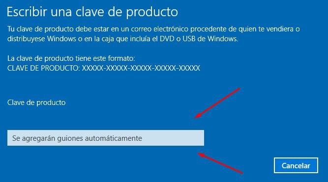 clave windows 10 pro n