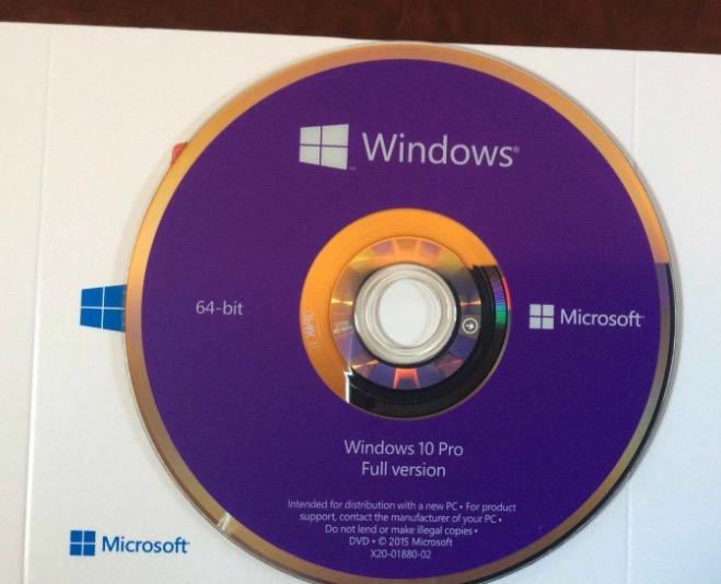 DVD windows 10 PRO