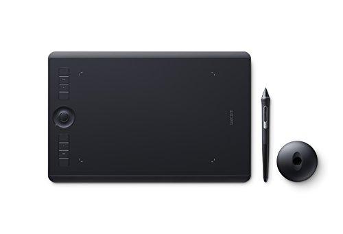 Wacom PTH-660-S Intuos Pro – Tableta gráfica con bolígrafo sensible a la presión a 8000 niveles