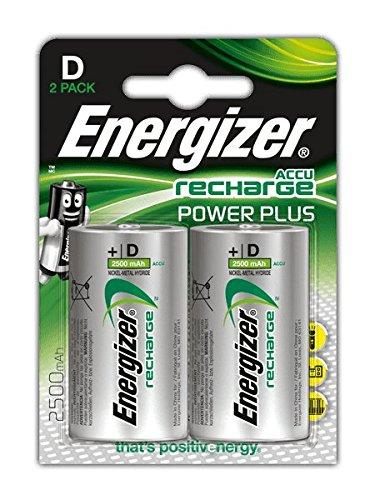 Energizer Accu Recharge Power Plus D