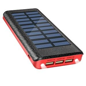mejor cargador solar 2017