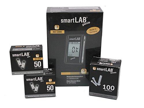 SmartLAB genie Monitoreo de glucosa en sangre