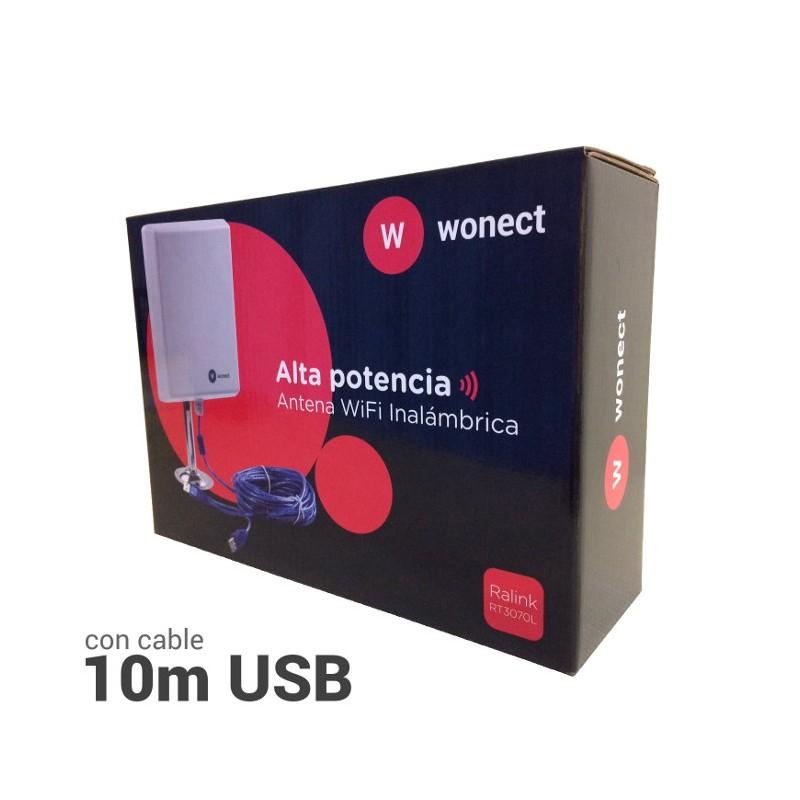 La mejor antena wifi largo alcance USB – WONECT N4000A