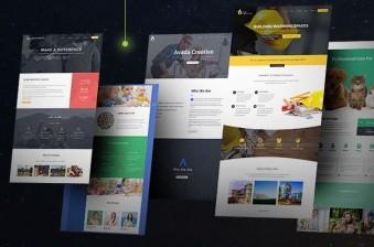 Las 8 Mejores Plantillas de WordPress de 2020 y Más Fáciles de Diseñar