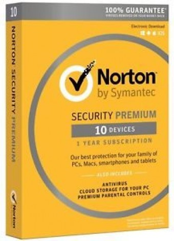 Norton Security Premium: Máxima seguridad para tu ordenador