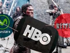 Duelo de series en Netflix, Movistar y HBO