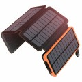 ADDTOP Cargador Solar 25000mAh Power Bank Portátil