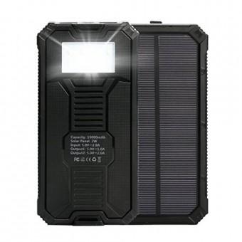 Cargador solar Upow 15000mAh