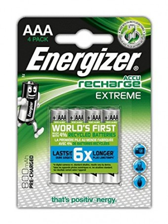 Energizer Accu Recharge Exterme AAA