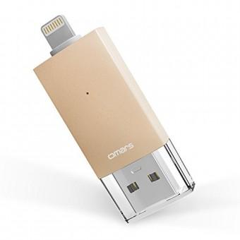 Memoria USB 3.0 OMARS® Dual Lightning-USB 3.0