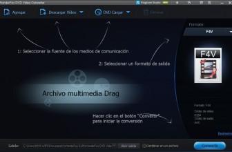 Review de Wonderfox DVD Video Converter – Un software que te sorprenderá