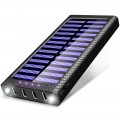 Power Bank TSSIBE 24000mAh con carga solar