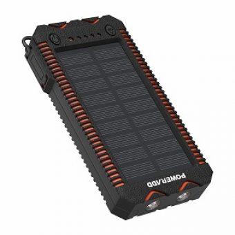 POWERADD Cargador Solar Portátil con 12000mAh