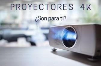Cine en casa con los proyectores 4K