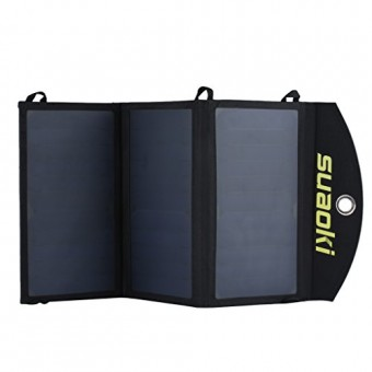 Suaoki – 20W Cargador Panel Solar Placa Solar